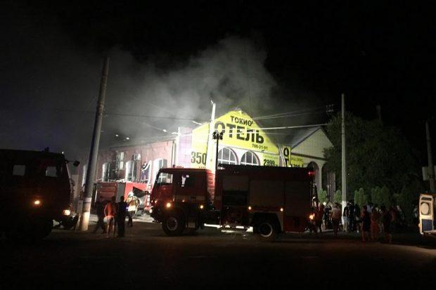 Пожар в хотел в Одеса отне живота на осем души