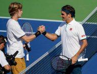 Андрей Рубльов елиминира Роджър Федерер на 1/8-финалите в Синсинати
