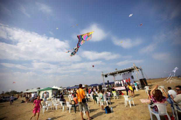 Фестивал на хвърчилата се провежда в Шабла