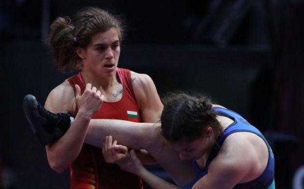 Тайбе Юсеин остана със сребърен медал от Световното първенство по борба
