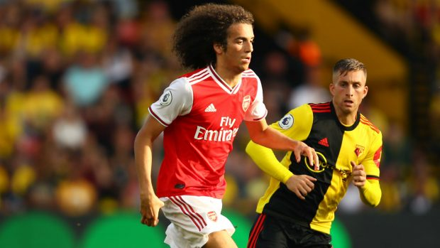 Уотфорд и Арсенал си разделиха по едно полувреме за 2:2