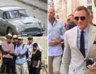 Заснеха зрелищно преследване с коли от новия филм за Джеймс Бонд