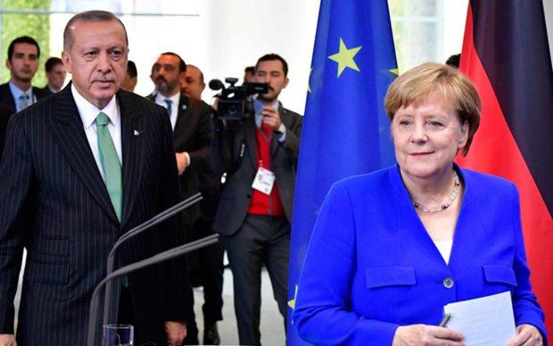 Ердоган и Меркел обсъдиха имиграцията и ситуацията в Сирия