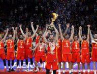 Хиляди фенове посрещнаха световните баскетболни шампиони от Испания