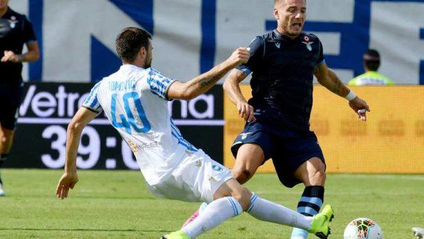 Първа загуба за Лацио и първи точки за СПАЛ след 2:1