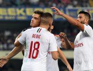 Милан спечели минимално с 1:0 при визитата на Верона
