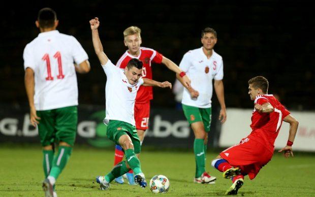 Младежките национали завършиха 0:0 с фаворита в групата Русия