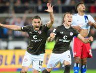 Санкт Паули спечели градското дерби срещу Хамбургер с 2:0