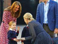4-годишната принцеса Шарлот тръгна на училище