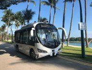 Автономни автобуси превозват тестово пътници в Сингапур