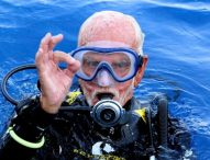 """96-годишен британец постави рекорд за """"най-възрастен гмуркач в света"""""""