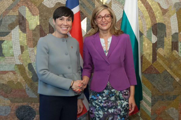 България и Норвегия трябва да засилят стокообмена си