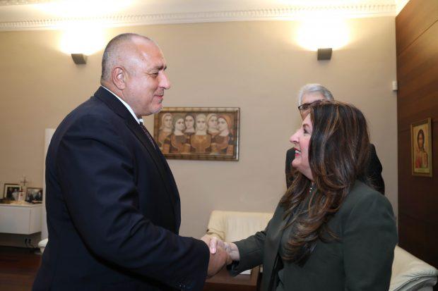Премиерът Борисов се срещна с посланика на САЩ Херо Мустафа