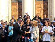 АБВ се срещна с поддръжниците си преди местните избори
