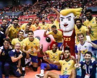 Бразилия спечели Световната купа по волейбол за мъже, Полша са втори