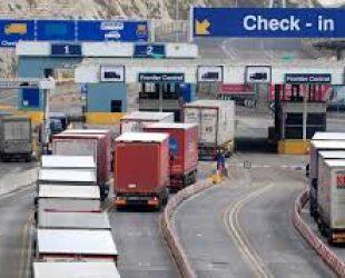 Британското пристанище Дувър е готово за Брекзит, но гледа към френската граница