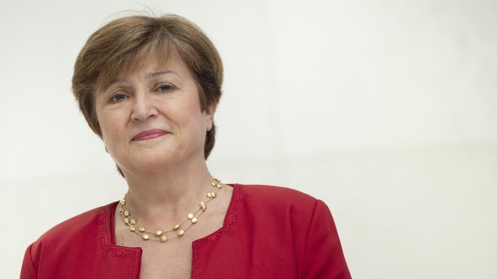Кристалина Георгиева встъпва в длъжност като директор на МВФ ...