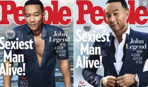 Джон Леджънд – най-секси мъжът на 2019 г.