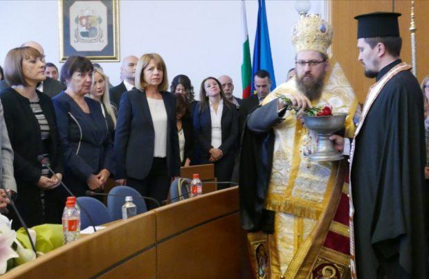 Йорданка Фандъкова положи клетва като кмет за четвърти път