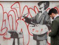 Творба на Банкси отново радва жителите и туристите на лондонски квартал Нотинг Хил