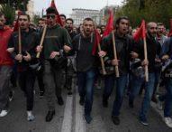 Арести по време на безредиците в Гърция