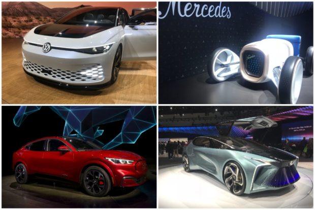 Голям интерес към последните модели електромобили на автосалона в Лос Анджелис