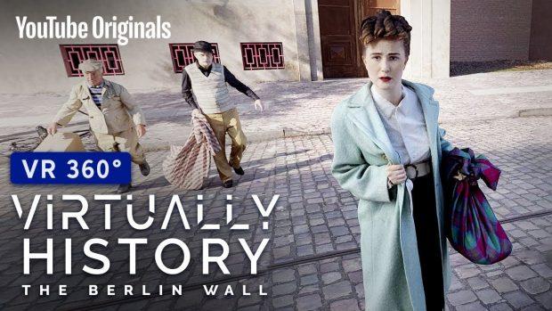 Да видиш Берлинската стена и да избягаш под нея – в ново VR шоу