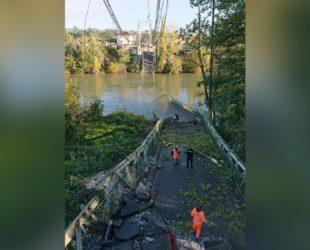 Мост рухна във Франция, има жертва