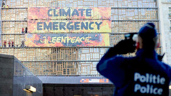 """Полицията в Брюксел арестува активисти на """"Грийнпийс"""""""