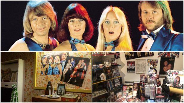 Колекция на суперфен влезе в нова изложба за легендарната шведска група АББА