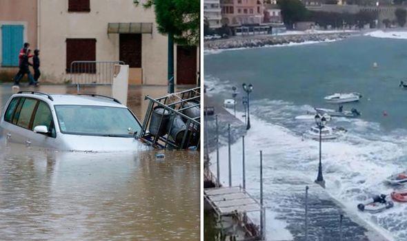 Червен код за опасно време в Южна Франция