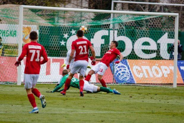 ЦСКА 1948 е на 1/4-финал за Купата на България след 4:3 над Берое