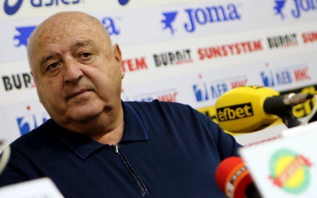 Венци Стефанов не иска да влиза в бъдещия Изпълнителен комитет на БФС