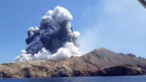 Не се очаква да бъдат открити живи хора на остров Уайт, след като изригна вулкан