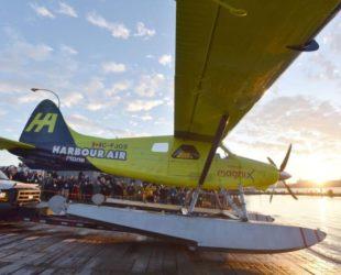 Първи пътнически полет с изцяло електрически самолет бе извършен в Канада