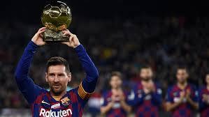 Меси показа Златната топка и отбеляза хеттрик във вратата на Майорка
