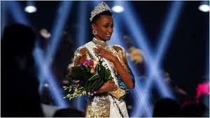 """Зозибини Тунзи от Южна Африка спечели короната в тазгодишния конкурс """"Мис Вселена"""""""