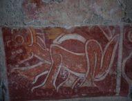 Стенни рисунки разкриват простата радост от живота в древния град Теотиуакан