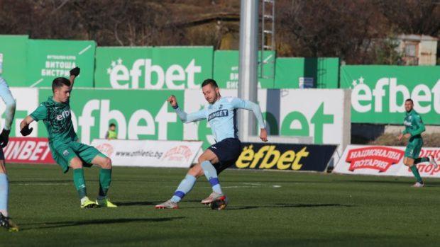 Витоша и Дунав разделиха точките след 1:1