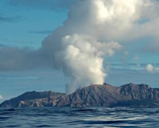 Изригна на вулкан на новозеландския остров Уайт