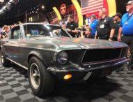 """Форд Мустанг, каран от Стив Маккуин в """"Булит"""", бе продаден за 3.4 млн. долара"""