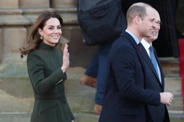 Херцозите на Кеймбридж с първа публична изява за 2020-а година