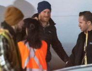 Принц Хари пристигна в Канада при съпругата си Мегън и сина си Арчи