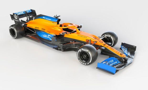 Макларън представи оранжевия си болид за новия сезон