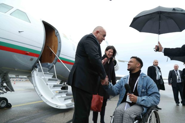 Премиерът Бойко Борисов пристигна в Мюнхен за участие в Конференцията по сигурността