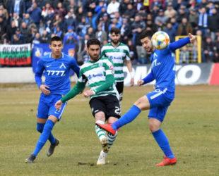 Черно море и Левски завършиха 2:2 в мач с много драма