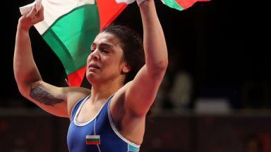 Мими Христова спечели титлата от европейското по борба