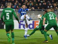 Интер спечели първия 1/16-финал срещу Лудогорец с 2:0