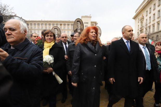 Спор между ГЕРБ и БСП в парламента заради шествието на президента по случай годишнината от смъртта на Апостола