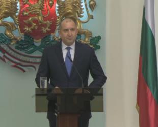 Отговорът на президента: Разговор за Конституцията е възможен след оставки